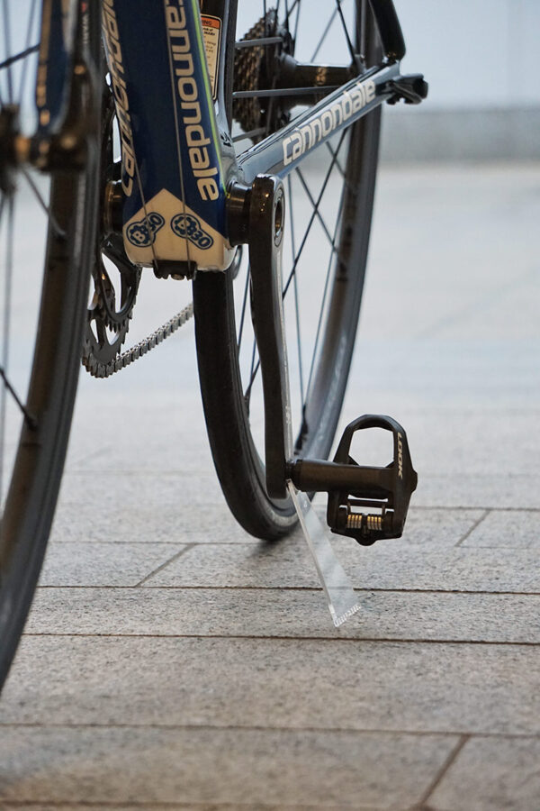 Invisible bike stand